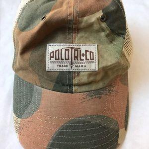 Polo Ralph Lauren RL Camo Mesh Back Trucker Hat